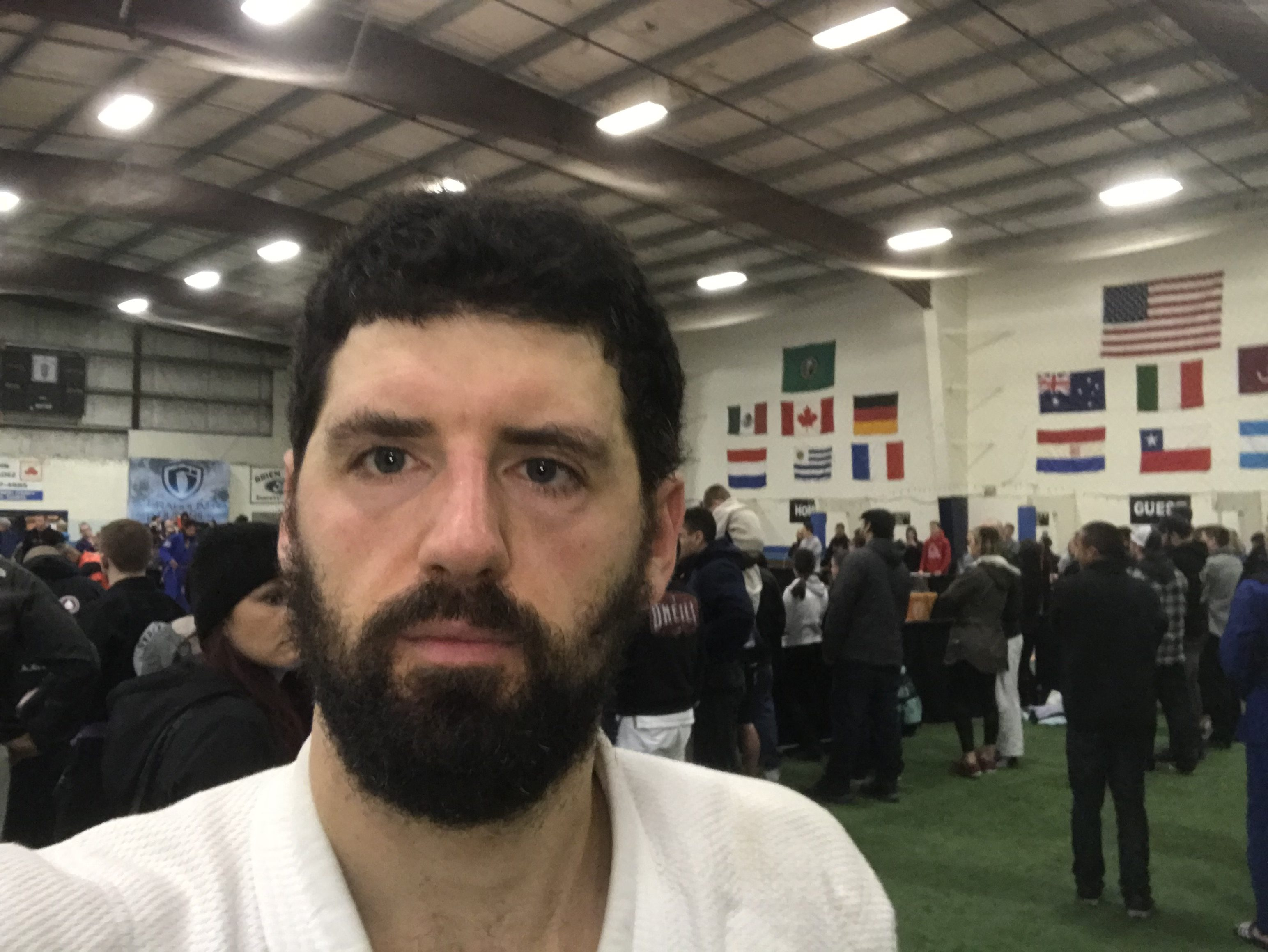 Don't let the person you are get in the way of the person you might become: Returning to Brazilian Jiu Jitsu