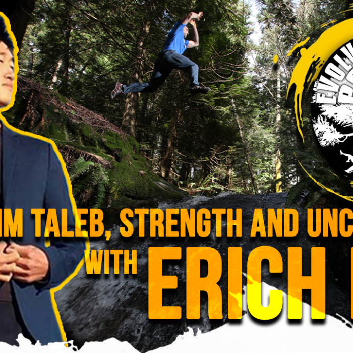 Nassim Taleb, Strength and Uncertainty with Erich Lin: EMP Podcast 43