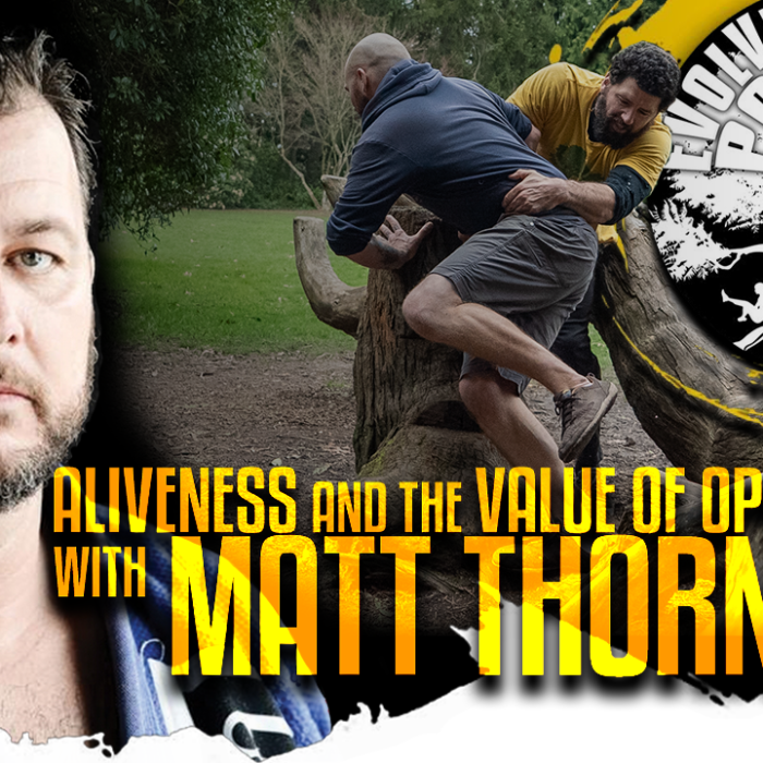 Aliveness and the Value of Opposition with Matt Thornton: EMP Podcast 44